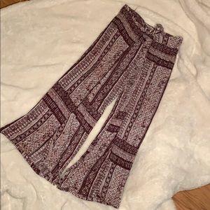 Open leg boho pants!